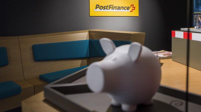 PostFinance a vu son bénéfice opérationnel fondre de plus de moitié en 2018