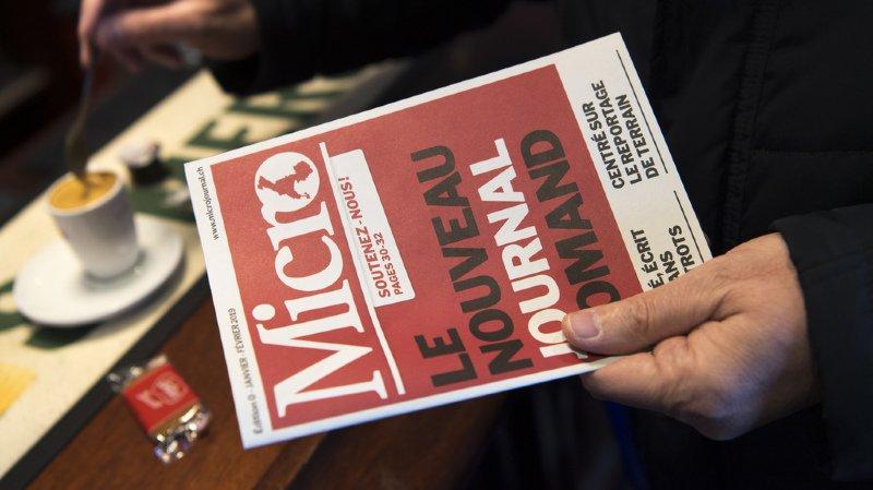 Financement participatif: le journal «Micro» franchit une première étape cruciale