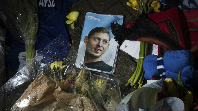 Disparition d'Emiliano Sala: l'avion n'était pas autorisé pour des vols commerciaux