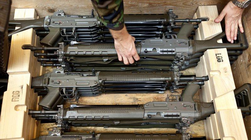Les exportations suisses de matériel de guerre se portent bien