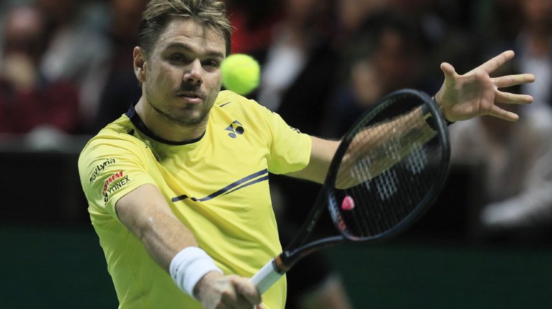 Tournoi ATP 500 de Rotterdam: Wawrinka s'incline en finale face à Monfils