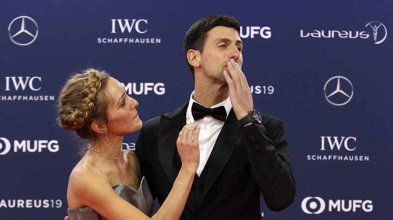 Laureus Sports Awards: Simone Biles et Novak Djokovic athlètes de l'année