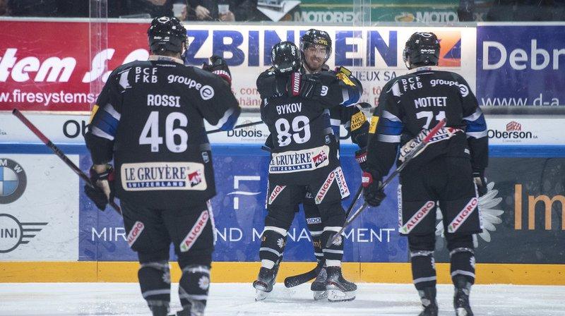 Hockey: Fribourg Gottéron repasse au-dessus de la barre, Lausanne a réagi