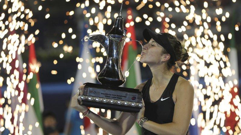 WTA : Belinda Bencic remporte le tournoi de Dubaï