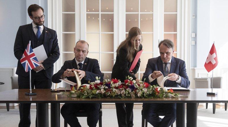 Brexit: droits de la libre circulation garantis aux Suisses et aux Britanniques après le Brexit