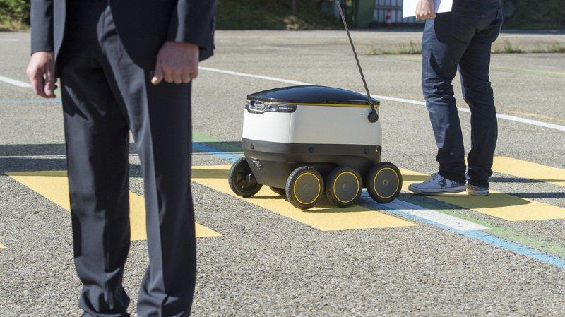 La Poste: les robots de livraison ne sont pas près de voir le jour