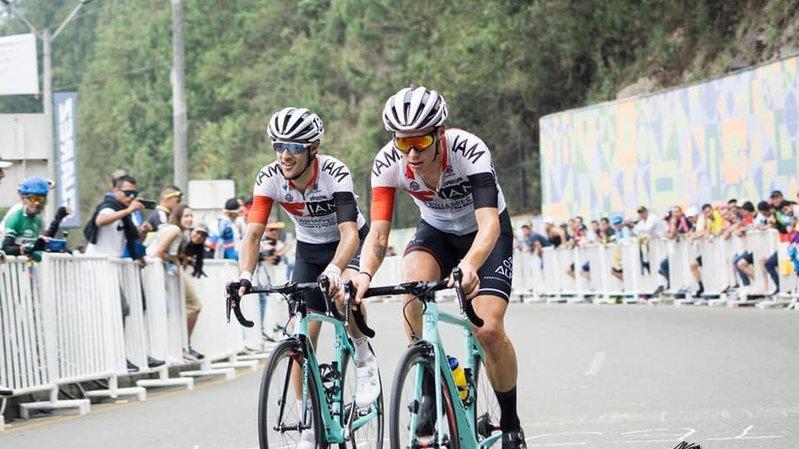 Cyclisme: Antoine Debons a vécu un rêve en Colombie au milieu des professionnels