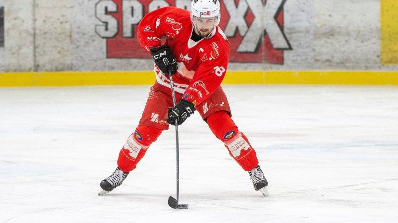Jérémy Gailland est l'un des douze joueurs à rester fidèles au HCV Martigny.