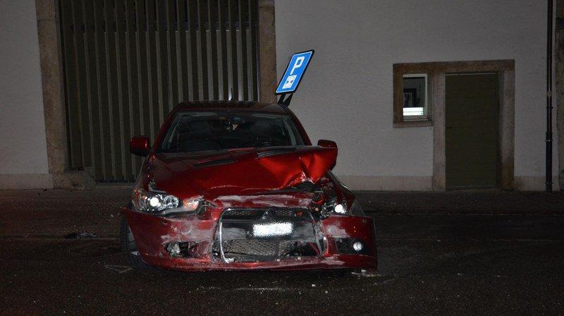 Bâle-Campagne: un automobiliste ivre s'en tire indemne après une collision frontale