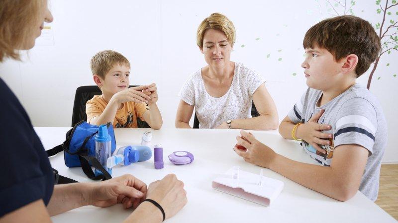 Comprendre et apprivoiser l'asthme chez l'enfant