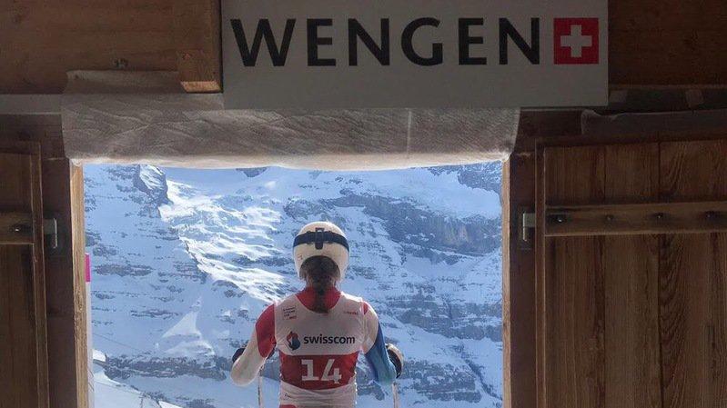 23 athlètes de Ski Valais se sont mesurés au Lauberhorn