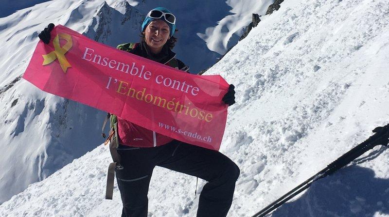 Une Valaisanne tente l'ascension d'un 6200 mètres pour médiatiser l'endométriose