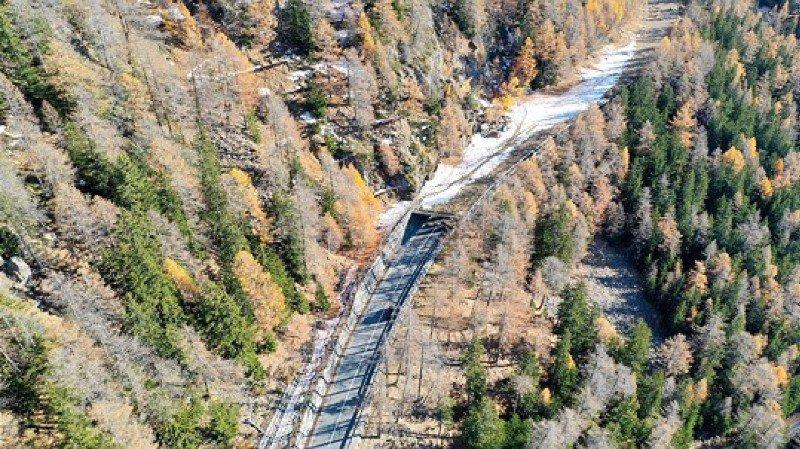 Les travaux sur la route menant au col du Simplon vont se poursuivre encore plusieurs années.
