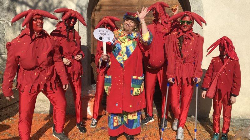 Nadine 1ère régnera sur le 147e carnaval de Monthey