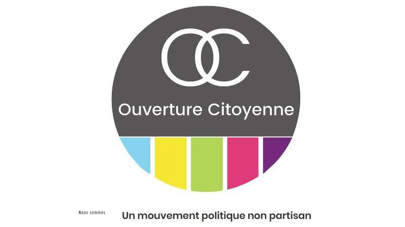 Le logo du nouveau mouvement non partisan.