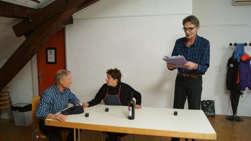 Les comédiens sont prêts pour leurs deux soirées annuelles à la salle de Charnot.