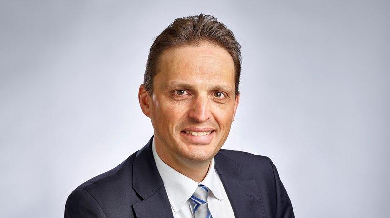 Xavier Clavien, membre de la direction d'une banque Raiffeisen