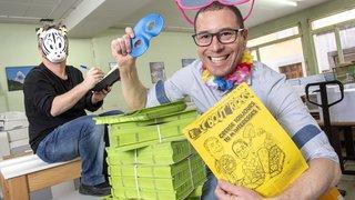 Monthey: le «Bout'rions», journal satirique de carnaval, «sévit» toute l'année sur la Toile