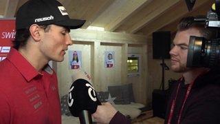 Ski: Daniel Yule s'exprime sur l'ambiance à Are, la course de dimanche et sa candidature de porte-parole