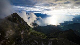 Vaud: une touriste française se tue dans la région des Rochers de Naye
