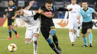 Football – Europa League: Zurich s'incline 3 à 1 face à Napoli en 16es de finale aller