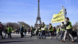 France: l'acte 14 des «gilets jaunes» marqué par des heurts et des insultes antisémites