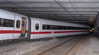 Accident ferroviaire: le train allemand qui a déraillé à Bâle a failli percuter un mur en béton