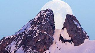 La super Lune vue du monde