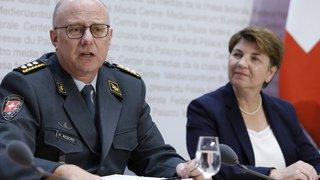 Philippe Rebord, le chef de l'armée suisse, a été gravement malade
