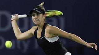 Tennis -  Tournoi de Dubaï : Belinda Bencic bat Simona Halep (ATP 2) et passe en demi-finale