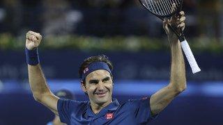 Tennis: le 100e titre de Roger Federer lui permet de remonter au 4e rang du classement ATP