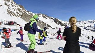 Domaines skiables valaisans, c'est mars en février