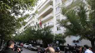 Grèce: des autonomistes de gauche font irruption à l'ambassade de Suisse à Athènes