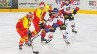 Hockey: trois à rien face à Bülach, Sierre a déjà validé son billet