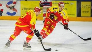 Play-off de hockey: Sierre accueillera Dübendorf, HCV Martigny se déplacera à Huttwil