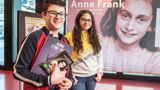 A Martigny, les jeunes cultivent la mémoire d'Anne Frank
