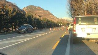Uvrier: un accident implique trois véhicules à l'entrée du village