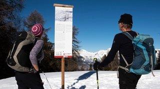 Saint-Martin: un sentier pour apprendre à estimer le risque d'avalanche