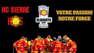 HC SIERRE - demi-finales des playoffs