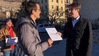 Abattoir de Martigny: 6400 signatures déposées pour sa fermeture