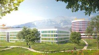 Le Valais prévoit d'investir 385millions de francs dans les deux futurs hôpitaux de Sion et de Brigue