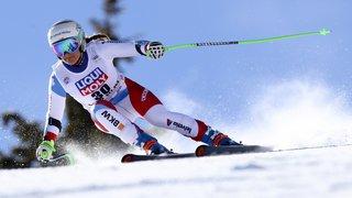 Ski: les Suissesses battues en descente à Crans-Montana