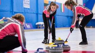Curling: Roxane Héritier est la seule fille, en Valais, à jouer à ce niveau