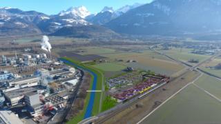 Monthey: le terminal rail-route mis à l'enquête