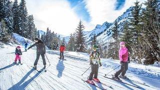 La Grande Dérupe aux Crosets pour s'éclater en famille ou entre amis dans la neige