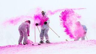 A La Tzoumaz, les skieurs pourront en voir de toutes les couleurs ce dimanche