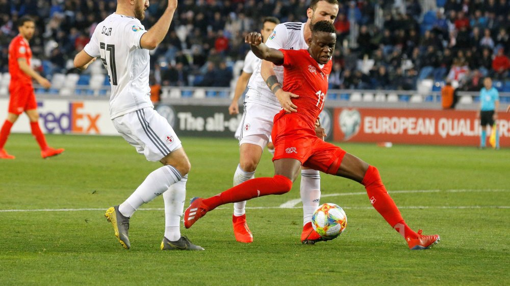 Denis Zakaria et la Suisse ont souffert contre la Géorgie.