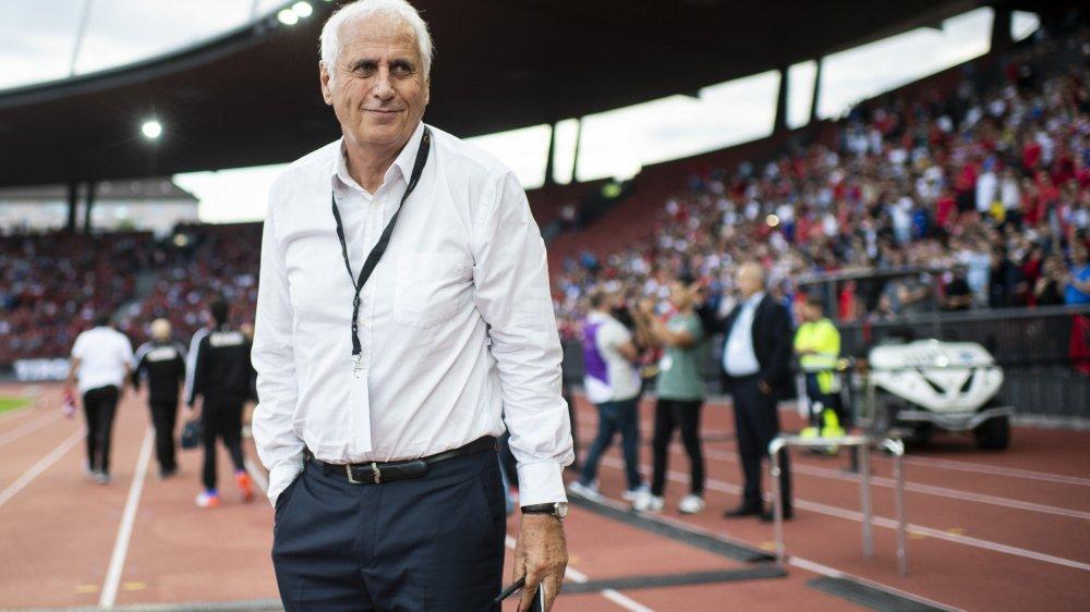 Bernard Challandes est l'entraîneur de l'équipe nationale du Kosovo.