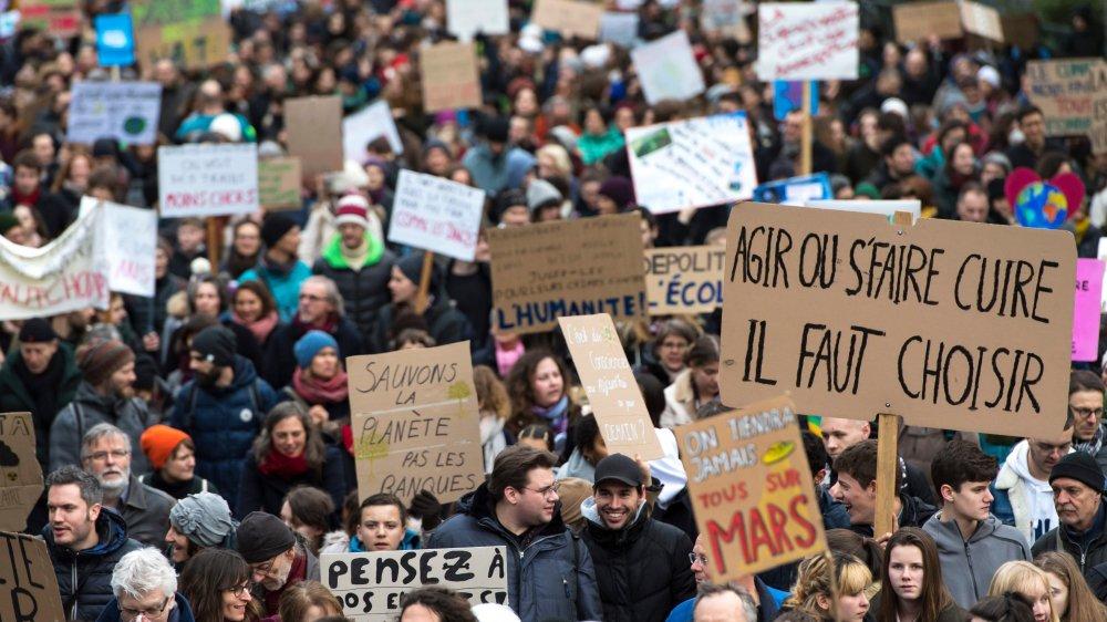 «Le dérèglement  du climat est une chance»