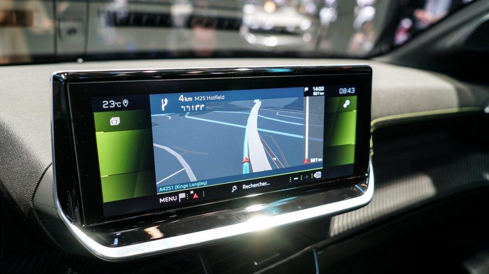 Les GPS perdent le nord au Salon de l'auto
